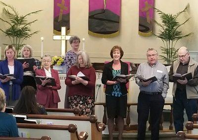 Faithful Pearls Choral Group, Cass United Methodist Church